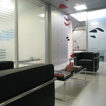 Interior design executive offices